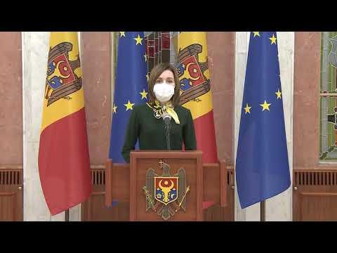 Президент Республики Молдова Майя Санду сегодня, 27 января 2021 года, назначила Наталью Гаврилица кандидатом на пост Премьер-министра