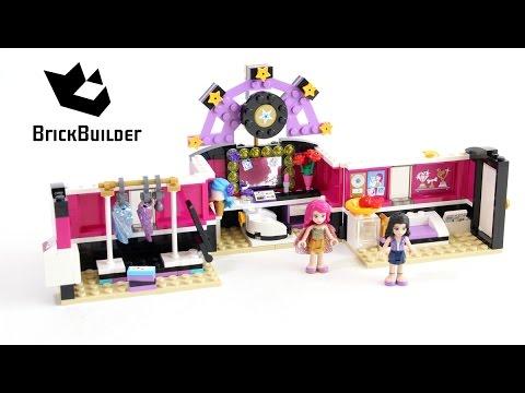 Vidéo LEGO Friends 41104 : La loge de la chanteuse