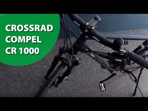 Der B.O.C. Fahrradtester: Das Crossrad Compel CR 1000 im ausführlichen Test