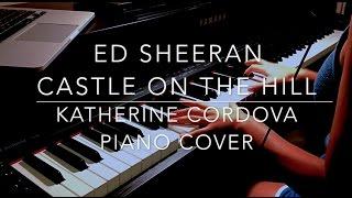 Video Ed Sheeran - Castle On The Hill (HQ piano cover) Divide SNL download in MP3, 3GP, MP4, WEBM, AVI, FLV Februari 2017