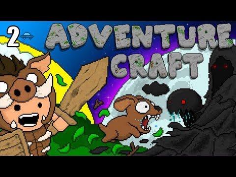 Adventure Craft - Díl.: 2. - Obří Pavouk !!!