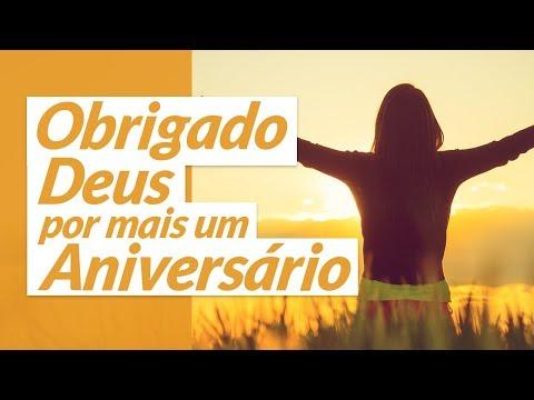 Msg de aniversário - Mensagem de Agradecimento de Aniversário a Deus
