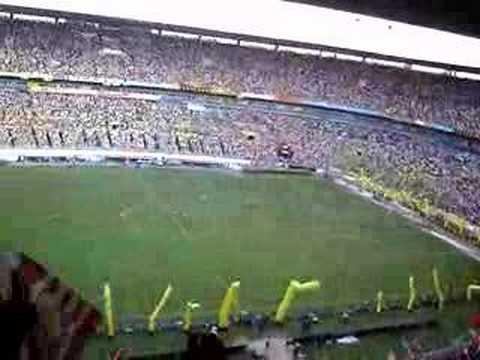 Celebración en el Estadio Jalisco