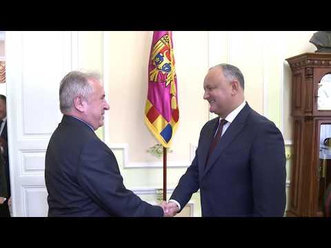 Președintele Republicii Moldova a avut o întrevedere cu Ambasadorul Republicii Turcia în țara noastră