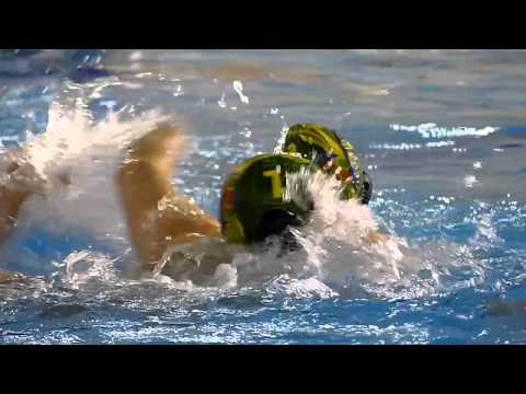 Waterpolo Navarra vs Mediterrani Slow Motion