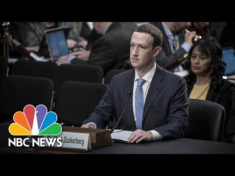 Facebook CEO Mark Zuckerberg Testifies Before Senate (Full) | NBC News (видео)