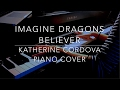 Imagine Dragons - Believer (HQ piano cover)