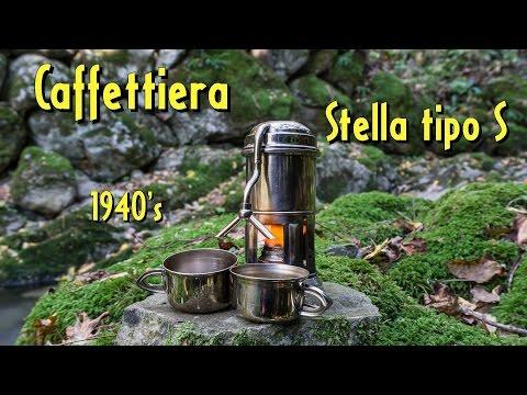 Caffettiera da campeggio anni '40 ☕️🌳
