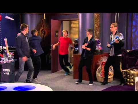 Marvin Marvin meets Big Time Rush
