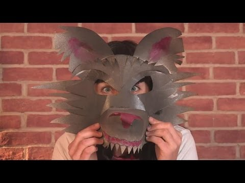 How To Make A Werewolf Mask