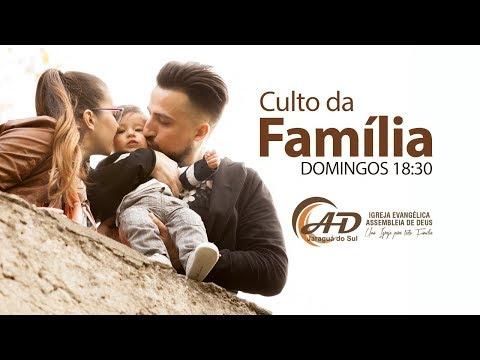 Santa Ceia e Culto da Família - 03/02/2019