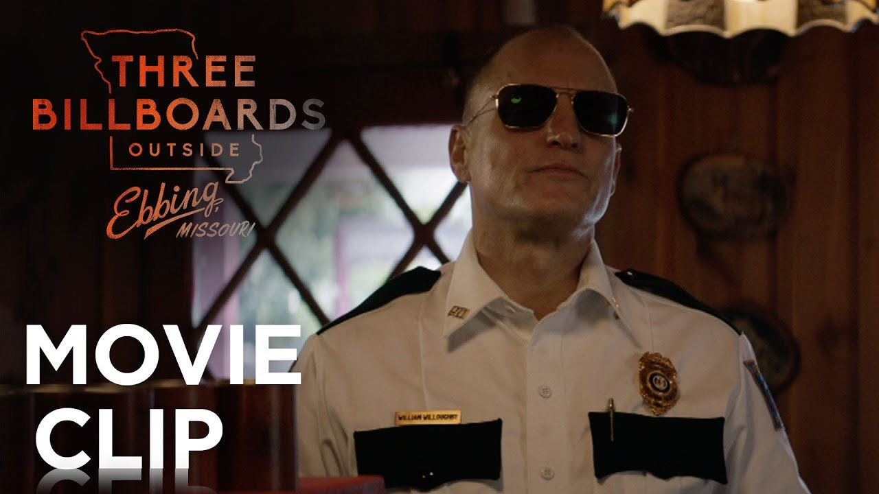 Watch Frances McDormand & Woody Harrelson in Martin McDonagh's 'Three Billboards Outside Ebbing, Missouri' Dark Twisted Dramedy