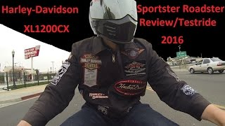 9. 2016 Harley Davidson Roadster Test Ride and Review XL1200CX