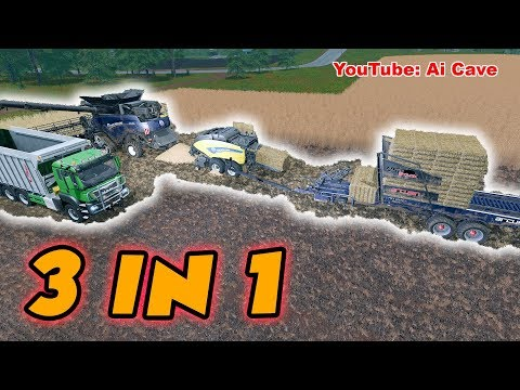 FS17 New Holland Combo Pack v1.0