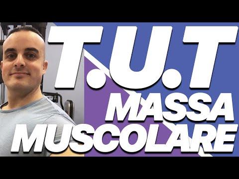 Aumentare Massa Muscolare: tempo sotto tensione (T.U.T.)