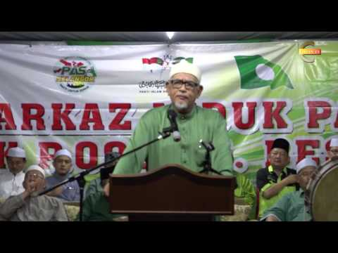 Ucapan Penuh TG dan Dr. Abddul Rani Majlis Pengishtiharan Calon PRK Sg Besar