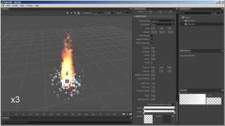 Flare3D / Stage3D Particle Emitters 