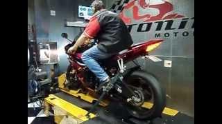 2. Yamaha YZF R6 2011 Vermelha Motonil
