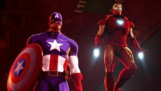 Nonton Iron Man and Captain America: Heroes United 2014 film Film Subtitle Indonesia Streaming Movie Download