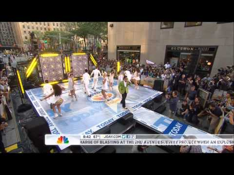 120914 – Psy (싸이) – Gangnam Style (강남스타일) [Both Performances] @ Today Show [HD]
