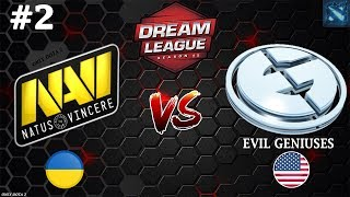 Смогут ли НАВИ одолеть ЗЛЫХ ГЕНИЕВ? | Na`Vi vs EG #2 (BO3) | DreamLeague Season 11