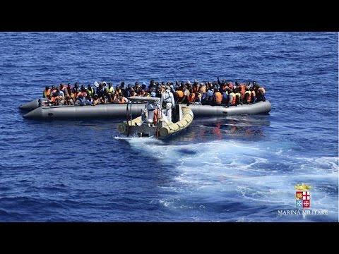 Δεκάδες αγνοούμενοι μετανάστες ανοιχτά της Λιβύης- Διασώθηκαν εκατοντάδες