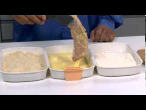Видео Прочие приспособления для выпечки Tescoma Набор для тройного кляра PRESTO Tescoma 420870