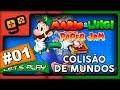 Mario Luigi Paper Jam Parte 1 Colis o De Mundos