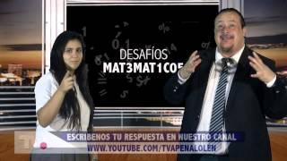 DESAFÍOS MATEMÁTICOS Nº12 COMENTA!