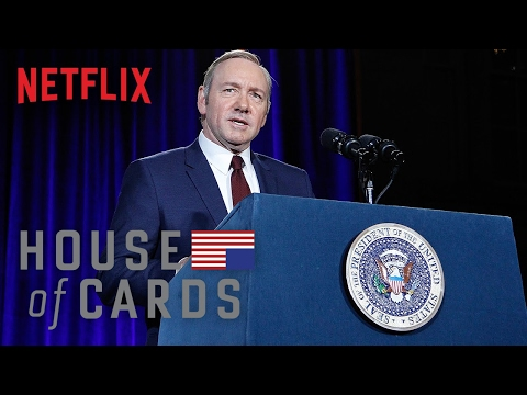 House of Cards Season 4 Clip 'Frank Underwood Presidential Portrait Unveiling'