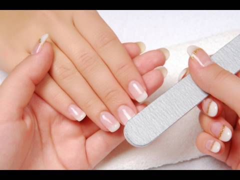 manicure - A step by step guide to an easy quick and free manicure! Products Used: Johnsons 24hr hand cream Sally Hansen Cuticle massage cream Cuticle/nail trimmers - B...