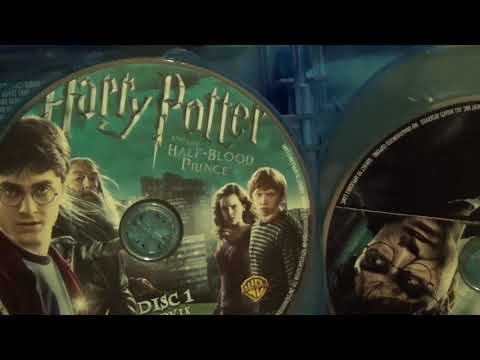 Harry Potter Complete 8-Film Collection Blu-Ray Unboxing