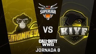 EMONKEYZ VS KIYF - SUPERLIGA ORANGE COD - JORNADA 8 - #SuperligaOrangeCOD8