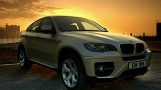 BMW X6 car review  - Now in Full HD - Top Gear - BBC