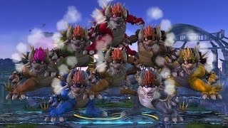 Amiibo Glitch with Giga Bowser and others