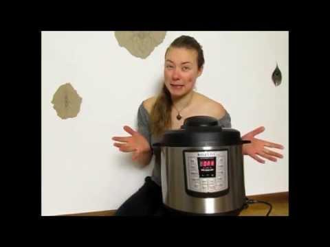 grüner Butler für die Küche: Instant Pot
