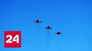 Летчики ЗВО оттачивают мастерство в учебных полетах