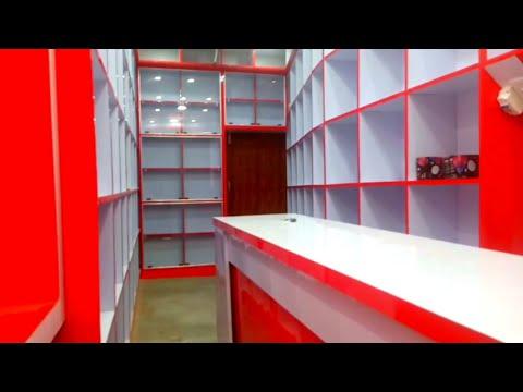 Garment Shop furniture design 👌 Small readymade garment shop