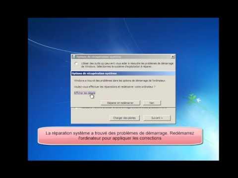 comment reparer windows xp avec r