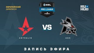 Astralis vs AGO - ESL Pro League S7 EU - de_overpass [ceh9, SleepSomeWhile]