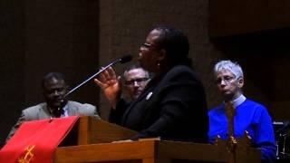 NAACP Charlotte: Rev. Jay Leach, Bishop Tonyia Rawls and Rev. Debra Blackwood