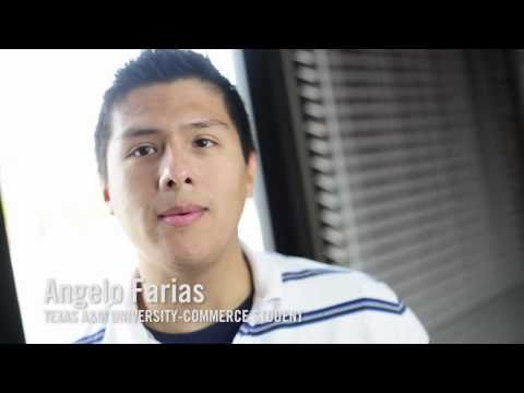Angelo Farias talks about his experience at Texas A&M University-Commerce