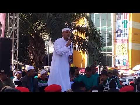 ustd muinnudinillah - jalan sehat umat islam & masyarakat solo 9 sept 2018