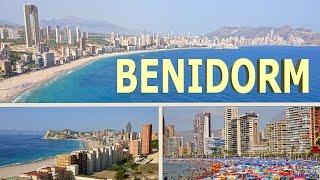 Benidorm Spain  city photo : Benidorm - Spain 2016 4K
