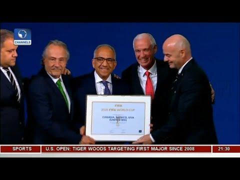 2026 FIFA World Cup Awarded To USA, Canada And Mexico  Sports Tonight 