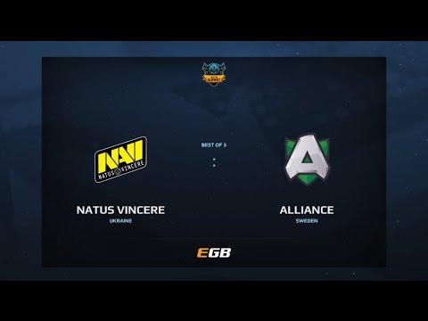 Na'Vi vs Alliance, Game 2, Dota Summit 7, EU Qualifier