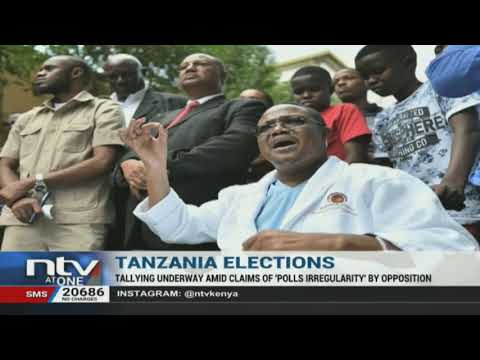 Tanzania Decides: Electoral Commission begins counting votes as Tundu Lissu alleges irregularities