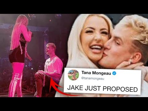 Jake Paul & Tana Mongeau Are Engaged And Yes, It's Real