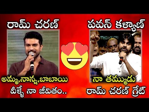 Pawan Kalyan and Ram Charan LOVE Towards Each Other | #PawanKalyanBirthday | Ispark Media