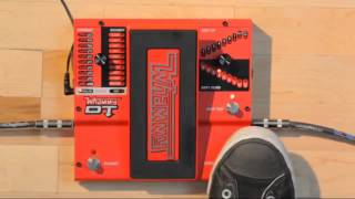 Official demo of the whammy DT drop tuning guitar whammy pedal from Digitech.